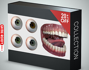 Eyeball and Teeth Collection 3D