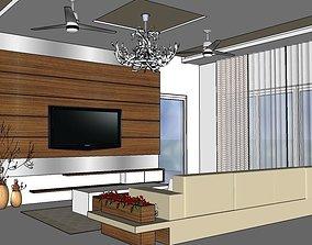 3D print model Living room