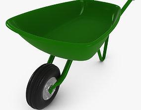 Wheelbarrow 3D asset realtime work