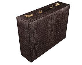 Briefcase 3D model box