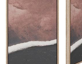3D asset Kande painting 50 x 70 cm