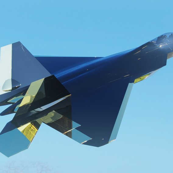 CGD Render Jet Fighter