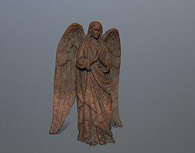 Angel Statue 04 3D asset