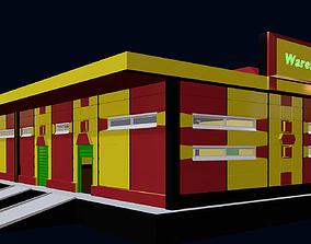Warehouse room 3D
