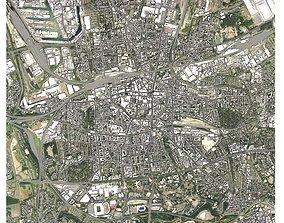 3D Cityscape Dortmund Germany