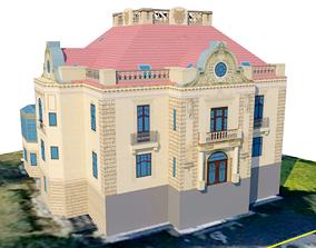 3D model Villa Josef Thyssen