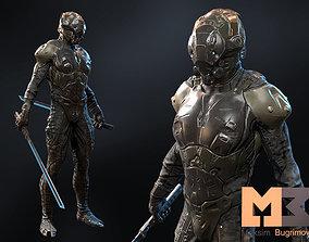 3D model Sci Fi Character 01 Shadow