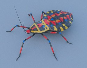 3D asset Coreid Bug Nymphs