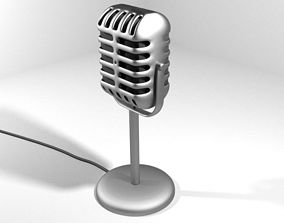 Microphone - Type 3 3D model