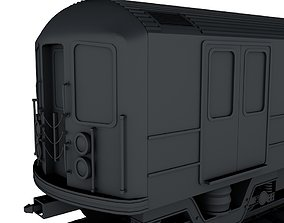 3D print model NYC Subway train