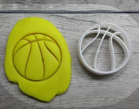 Basketball cookie cutter 3D print model