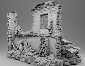 3D print model First world war