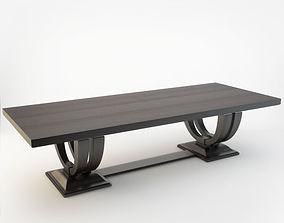 AdVivum Fitzrovia Dining Table 3D