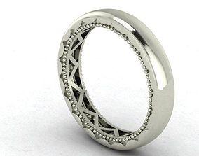 3D print model crescent band
