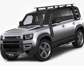 Land Rover Defender 110 2020 3D