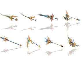 3D model Angel Weapons