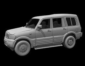 Mahindra Scorpio car 3d model