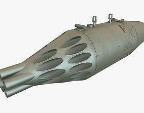 3D asset Rocket Launcher UB-32A