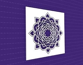 flower 3D Mandala