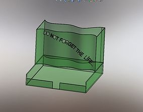 Pen and Note holders 3D model