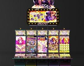 buffalo casino slot machine electronics 3D