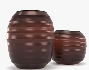 3D Guaxs vase belly red