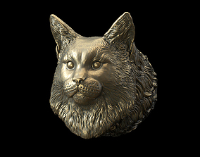 3D print model maine coon head
