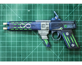 Borderlands Infinity Pistol 3D printable model