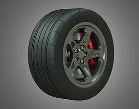 SRT - Wheel and Tire 3D