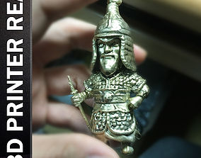 Admiral Yi Sun sin Low Poly 3D printable model