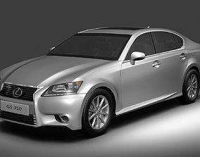 3D model Lexus GS350 2013