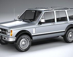 3D Generic Classic SUV