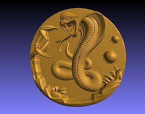 Cobra decor 3D printable model