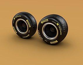 Pirelli Tyre 3D model