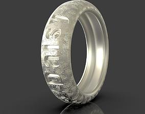 Ring Daisy I Love You 3D print model