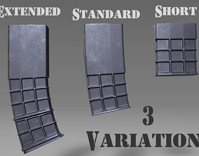 3D model Ammunition Magazine - Clip - Weapon 2