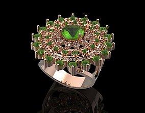 Modern Ring rings 3D print model