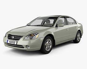 3D Nissan Altima S with HQ interior 2002