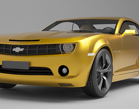 3D model camaro chevy 2010 muscle