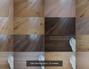 Oak Flooring set 3 3D