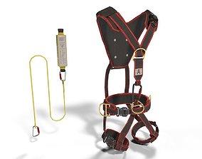 Climbing Equipment Security Harness 3D model