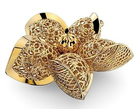 Jewelry Pendant 3D Print Model 0001D