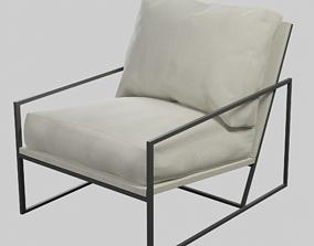 3D model Cole Armchair by Maisons du Monde