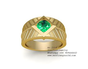 3D printable model 2318 Diamond Ring