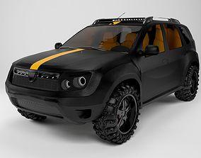 Dacia Duster 2019 3D model