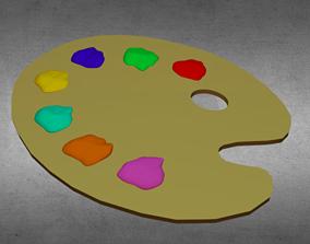 3D model Color Palette