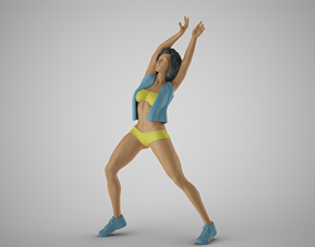 Exotic Dance 4 3D printable model