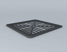 Drain grate 3D model