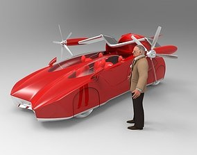 3D HoverCraft All Terrain Car Concept