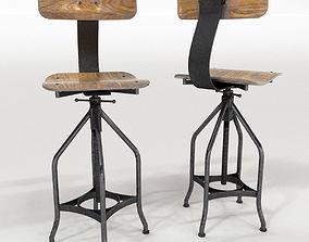 Chair Industrial 3D model
